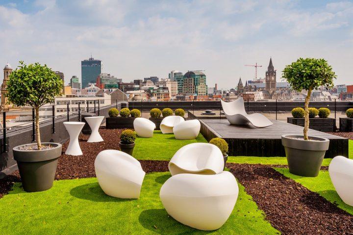 سیستم متمرکز در طراحی بام سبز