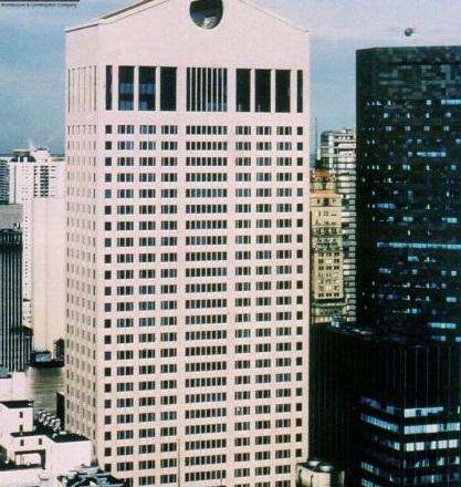 ساختمان AT&T اثر فیلیپ جانسون در شهر نیویورک