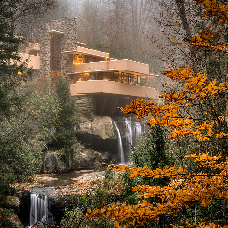 خانه (ساختمان) آبشار، آرامشبخشترین خانه دنیا در پنسیلوانیا