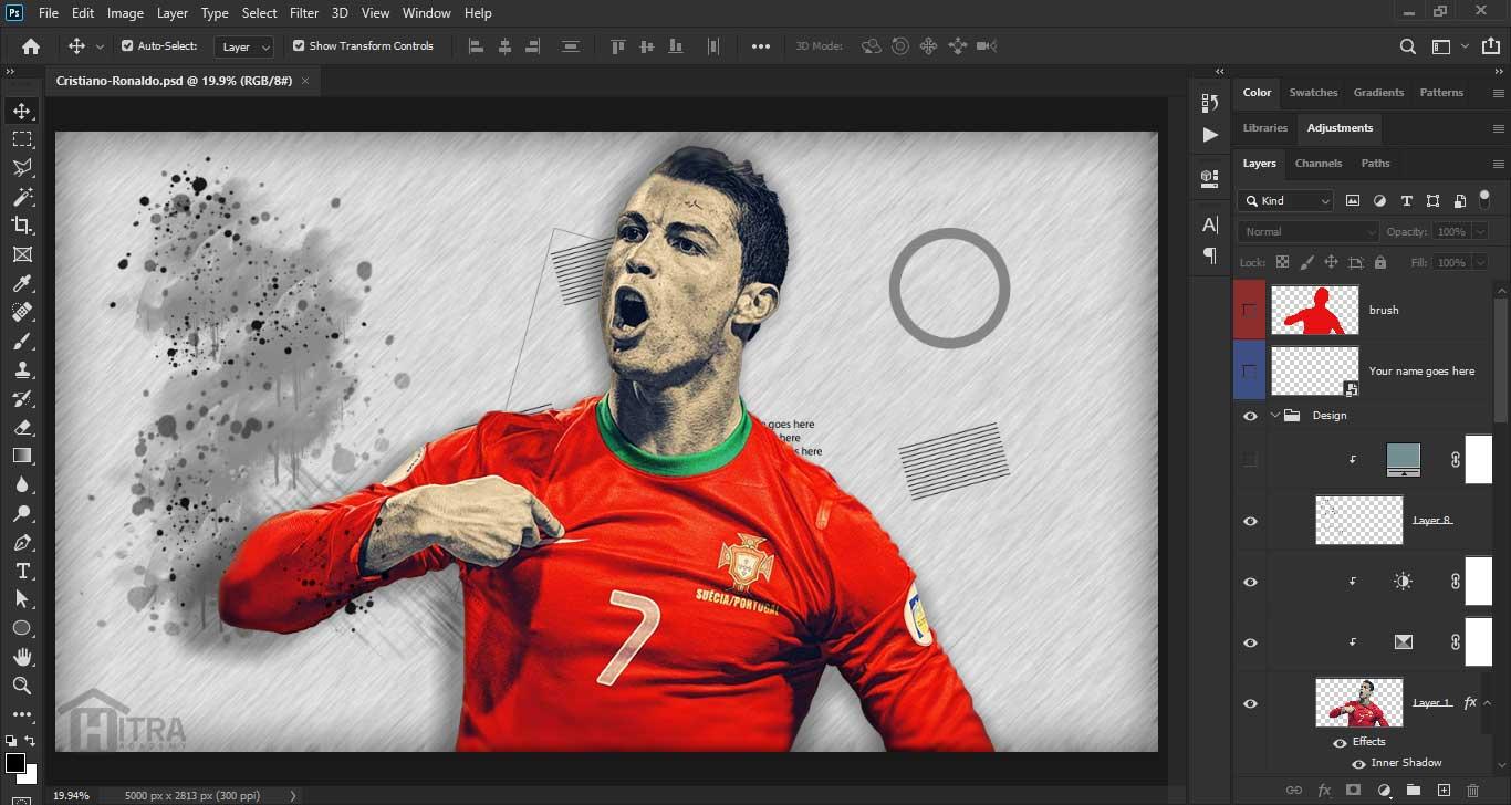 اکشن ها در Photoshop