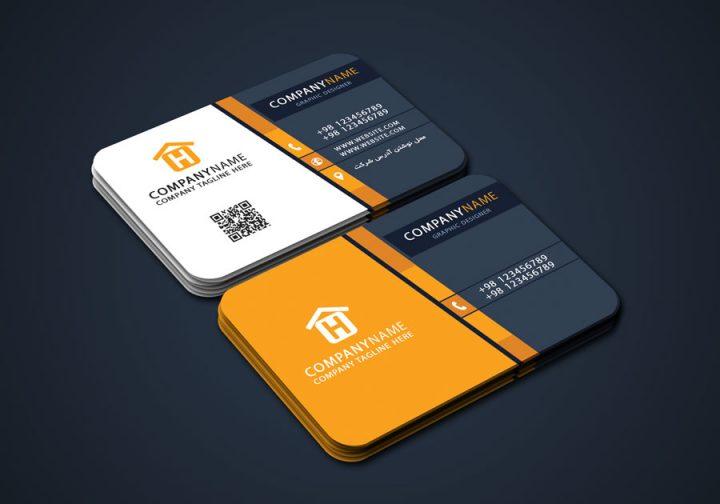 آموزش طراحی کارت ویزیت مدرن شرکتی