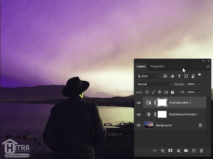 اصلاح نور و رنگ تصاویر