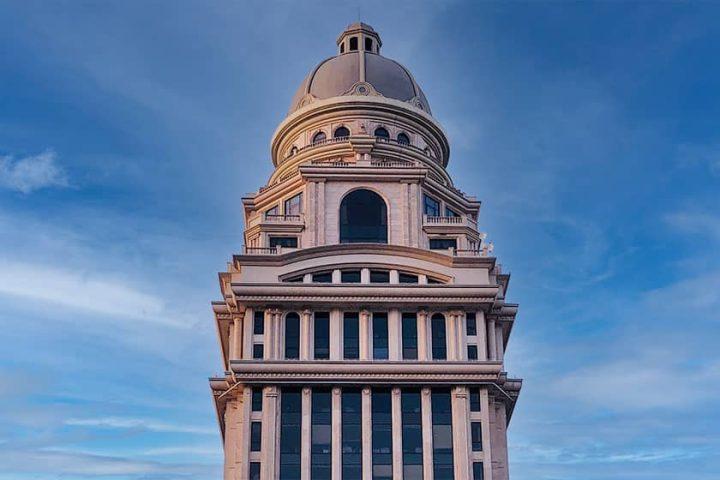 مدل سازی برج بیمه مرکزی