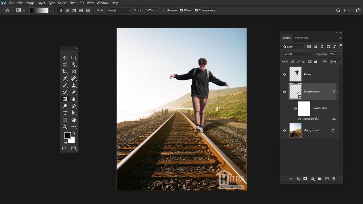 ایجاد سایه طبیعی در تصاویر
