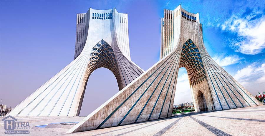 برج آزادی مهندس حسین امانت