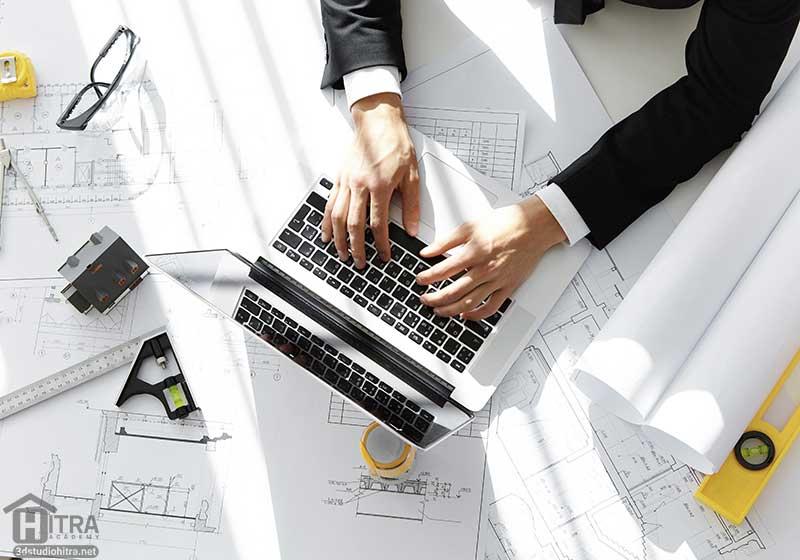 بازار کار 3ds Max در معماری