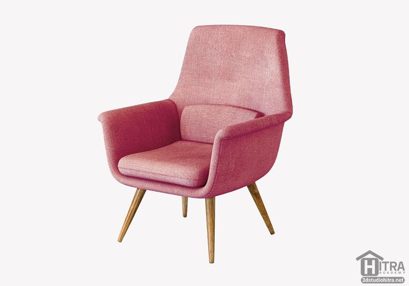 آبجکت صندلی سه بعدی
