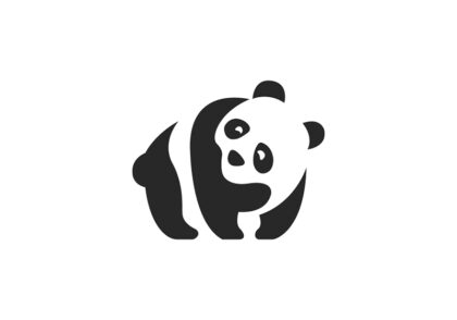 طراحی لوگو پاندا