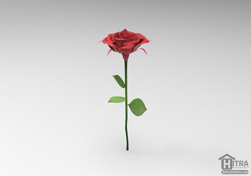 آبجکت گل رز