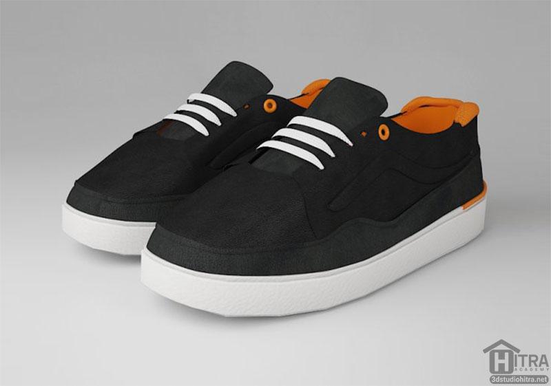 مدل سه بعدی کفش اسپرت