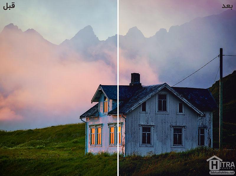 اکشن فتوشاپ برای تغییر رنگ تصاویر