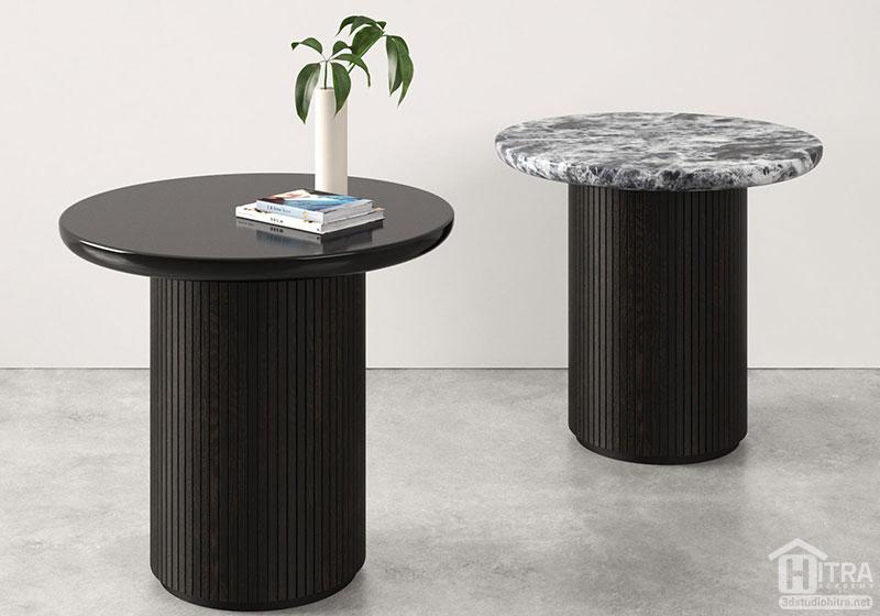 آبجکت میز گرد مدرن