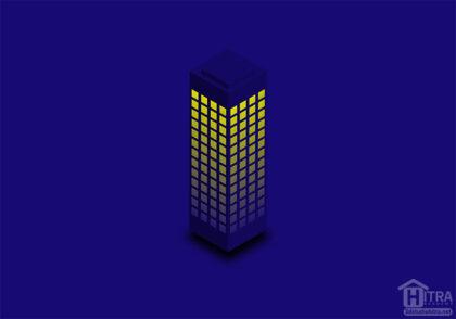 آموزش طراحی برج ایزومتریک