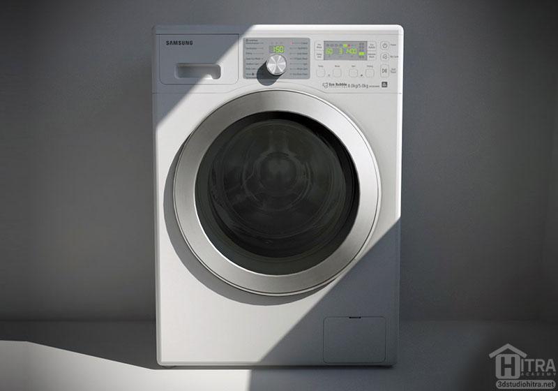 دانلود آبجکت ماشین لباسشویی