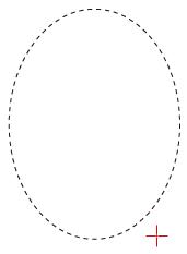 ابزار Elliptical Marquee