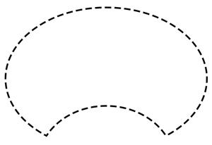 حذف بخشی از محدوده انتخابی توسط ابزار Elliptical Marquee