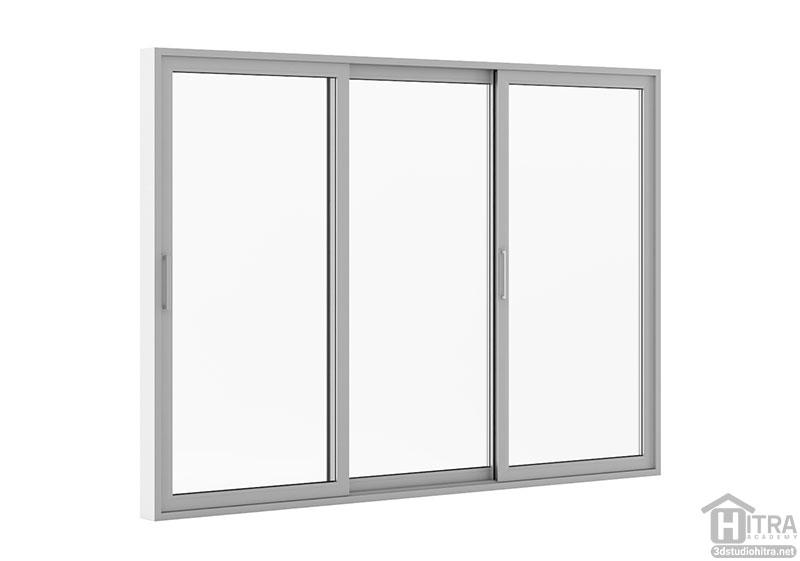 آبجکت پنجره تری دی مکس
