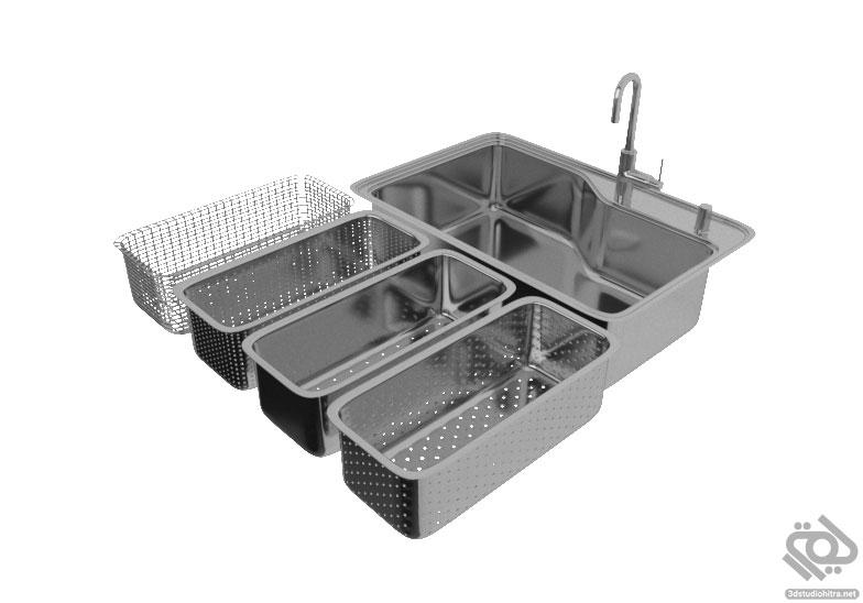 آبجکت سینک ظرفشویی مدرن