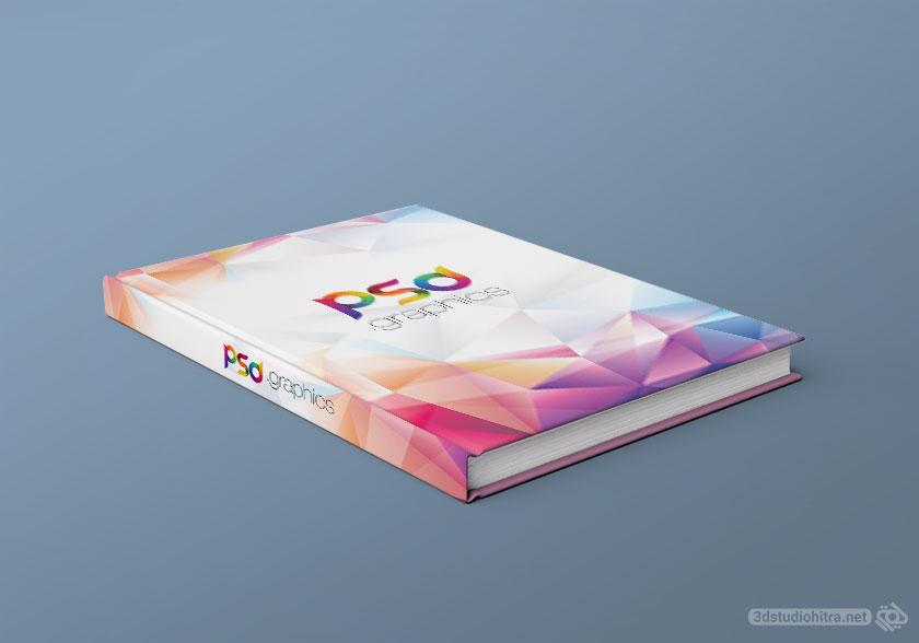 موکاپ کتاب جلد سلفونی