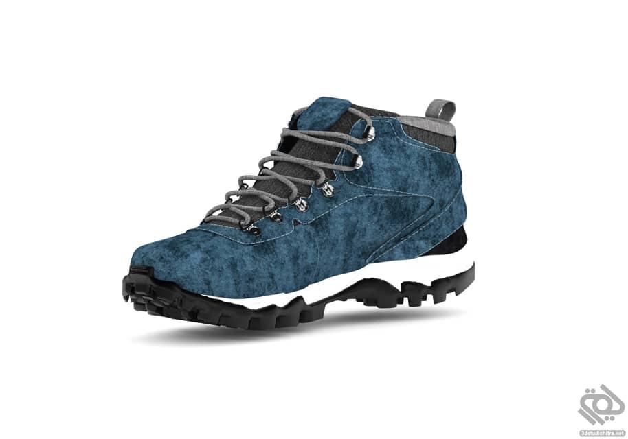 آبجکت کفش کوهنوردی تری دی مکس